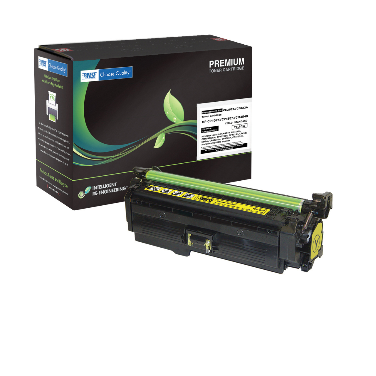 HP CE262A (648A) Yellow Laser Toner Cartridge - Yields 11,000 Pages