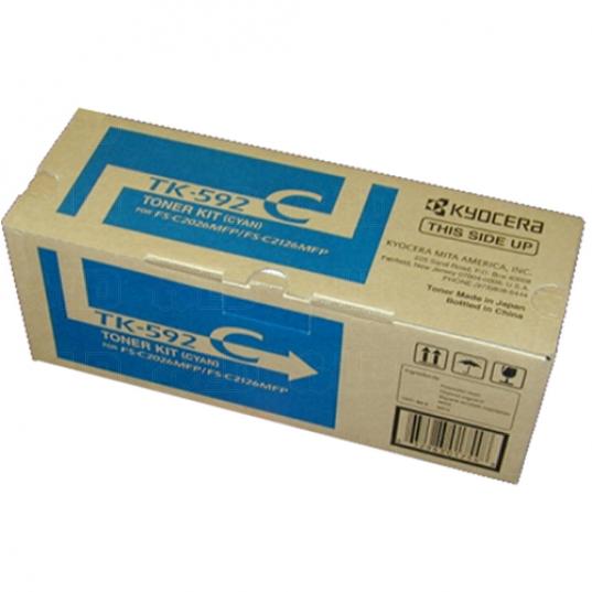 Kyocera-TK-592C-Cyan-Toner-OEM
