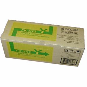 Kyocera-TK-592Y-Yellow-Toner-OEM
